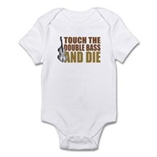 Double Bass:Touch/Die Infant Bodysuit
