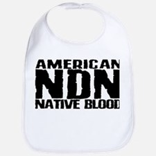 American NDN Native Blood Bib