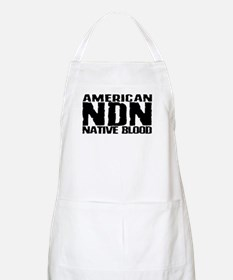American NDN Native Blood BBQ Apron