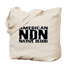 American NDN Native Blood Tote Bag