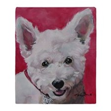 Westie - Ally Throw Blanket