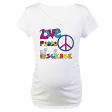 Love Peace Science Shirt
