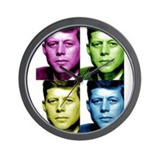 JFK John F. Kennedy Wall Clock