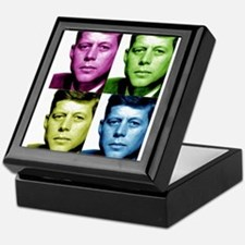 JFK John F. Kennedy Keepsake Box