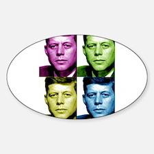 JFK John F. Kennedy Oval Decal