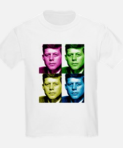 JFK John F. Kennedy Kids T-Shirt