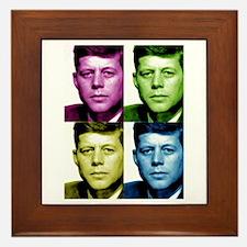 JFK John F. Kennedy Framed Tile