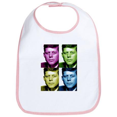 JFK John F. Kennedy Bib