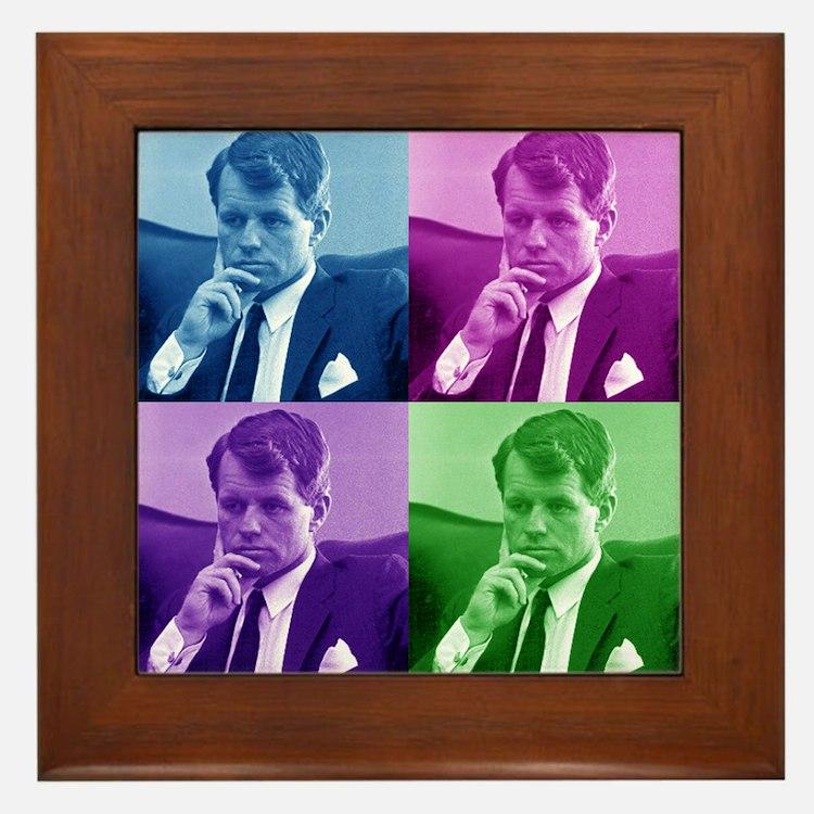 Robert Bobby Kennedy Framed Tile