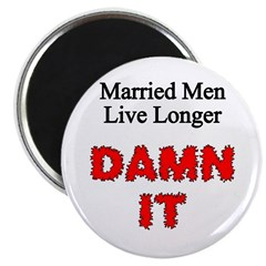 Twisted Imp Married Men Magnet