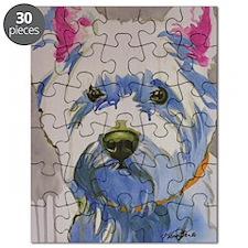 Westie Ungroomed Puzzle