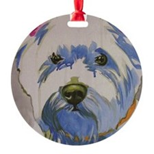 Westie Ungroomed Ornament