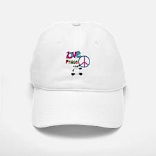 Love Peace Pandas Baseball Baseball Cap