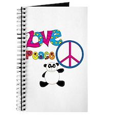 Love Peace Pandas Journal