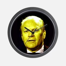 38th President Gerald Ford Wall Clock