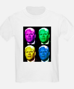 38th President Gerald Ford Kids T-Shirt