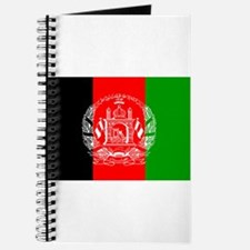 Afghanistan Flag Journal