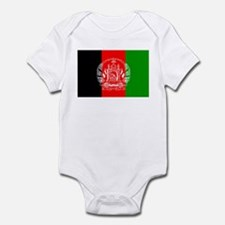 Afghanistan Flag Infant Bodysuit