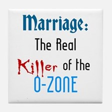 Marriage and the O-Zone Tile Coaster