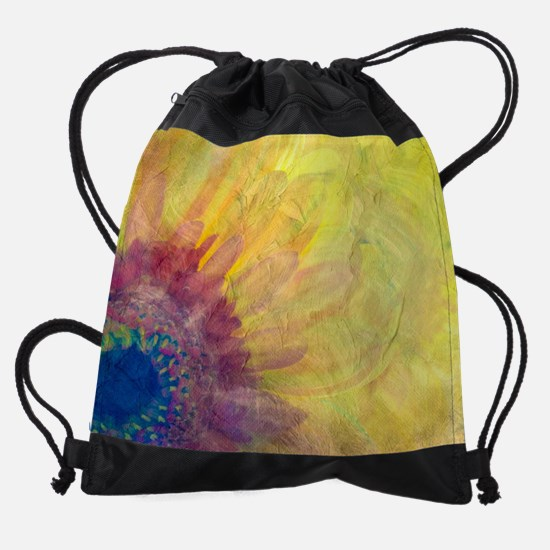 Gerbera Drawstring Bag