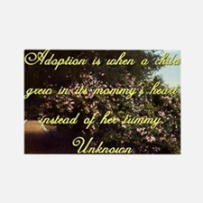Adoption Is When A Child - Unknown Magnets