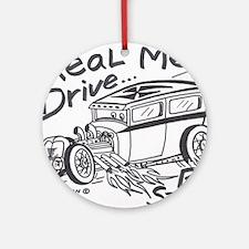 Real Men- Ornament (Round)