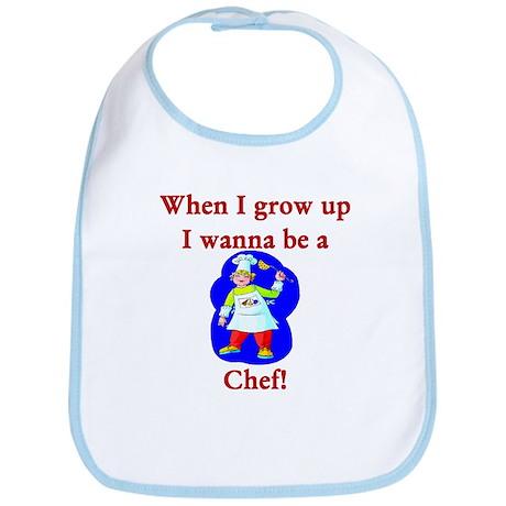 I Wanna Be A Chef Bib