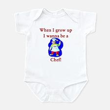 I Wanna Be A Chef Infant Bodysuit