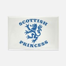 Scottish Princess Rectangle Magnet