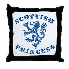 Scottish Princess Throw Pillow