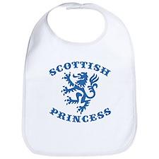 Scottish Princess Bib