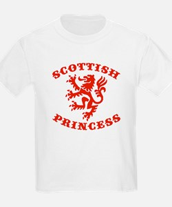 Scottish Princess Kids T-Shirt