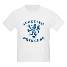 Scottish Princess Kids T-Shirt