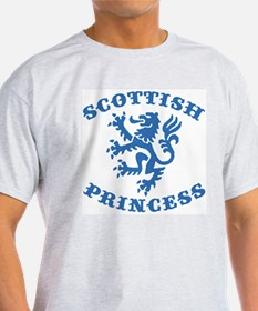 Scottish Princess Ash Grey T-Shirt