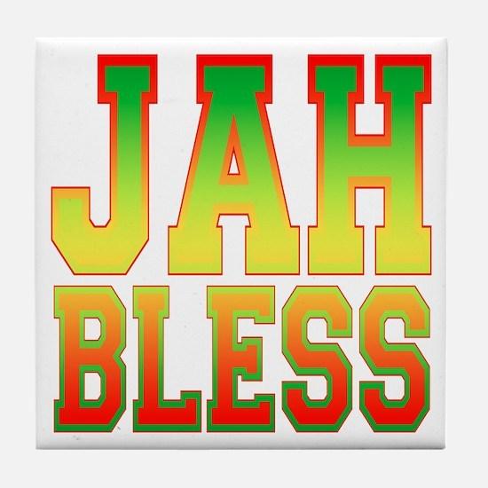 Jah Bless Tile Coaster