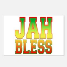 Jah Bless Postcards (Package of 8)