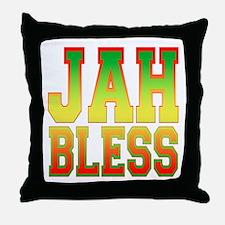 Jah Bless Throw Pillow