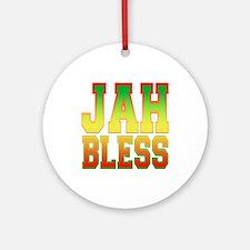 Jah Bless Ornament (Round)