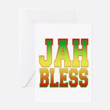 Jah Bless Greeting Cards (Pk of 10)