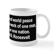 FDR on Peace Mug
