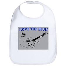 I LOVE THE BLUES Bib