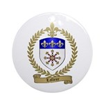 LAFLEUR Family Crest Ornament (Round)