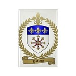 LAFLEUR Family Crest Rectangle Magnet