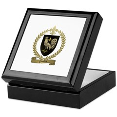 POULIN Family Crest Keepsake Box
