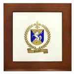 GRENIER Family Crest Framed Tile