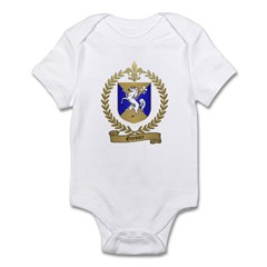 GRENIER Family Crest Infant Bodysuit
