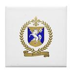 GRENIER Family Crest Tile Coaster