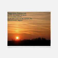 Sunset #1 Throw Blanket