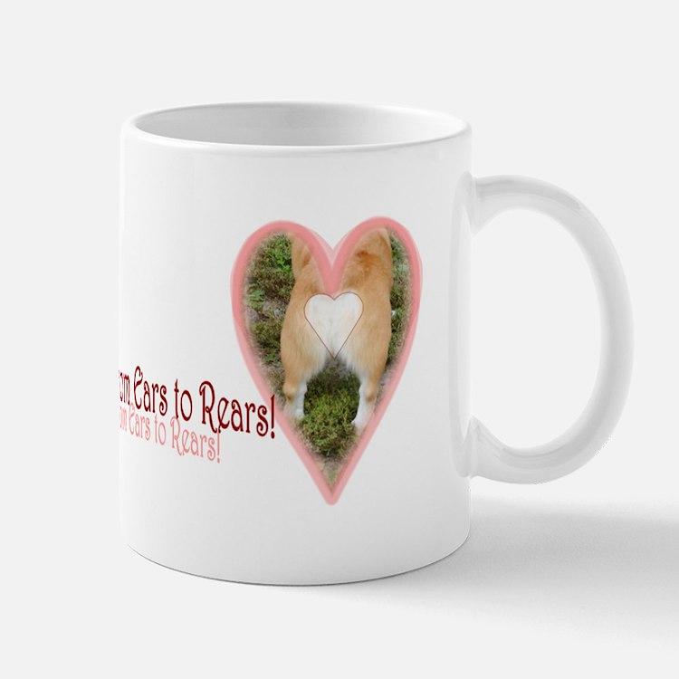 Welsh Corgi Valentine Mug