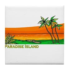 Bahamas vacation Tile Coaster